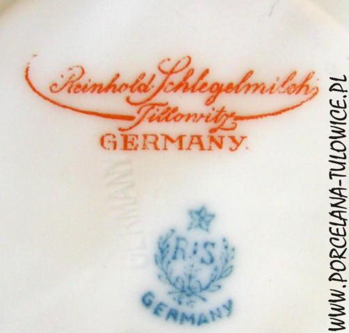 www porcelana-tulowice pl - original RS Prussia Tillowitz Suhl